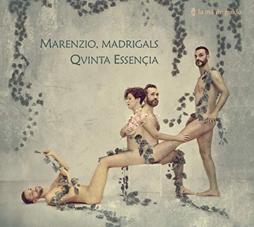 Portada Marenzio, madrigals